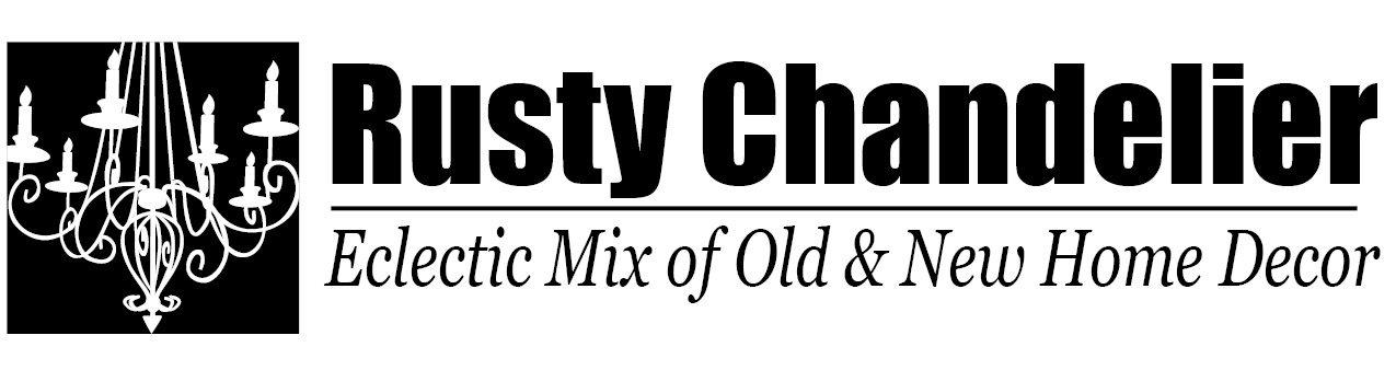 Rusty Chandelier